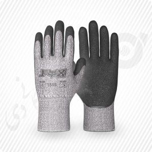 دستکش ضد برش کات5، کف مواد لتکس ( کد: 1555 )