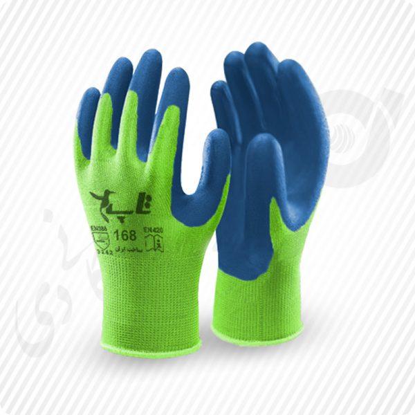 دستکش کفمواد نیتریل تاپ ( کد: 168 )
