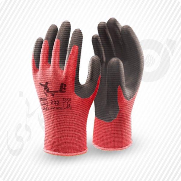 دستکش کف مواد نیتریل ( کد: 232 )